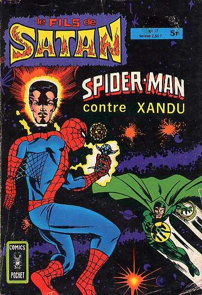 Couverture de Le fils de Satan -17- Spider-Man contre Xandu