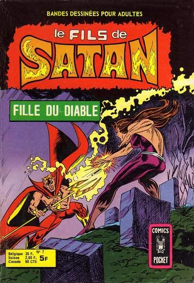 Couverture de Le fils de Satan -7- Fille du diable