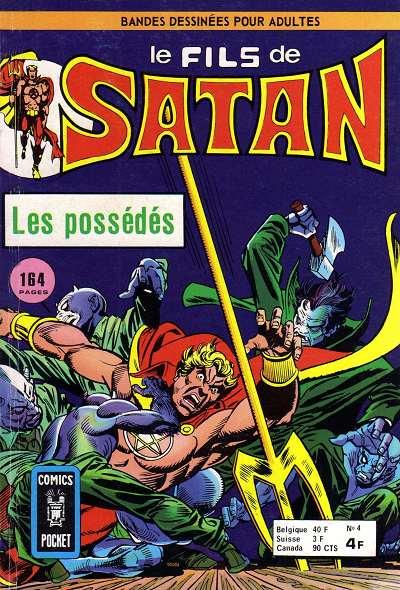 Couverture de Le fils de Satan -4- Les possédés