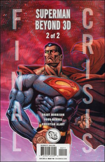 Couverture de Final Crisis: Superman Beyond (2008) -2- Superman beyond part 2