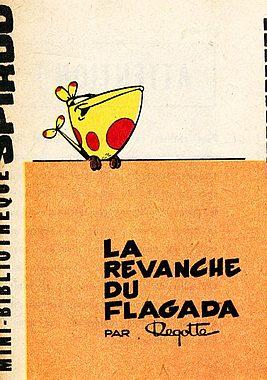 Couverture de Le flagada -2MR1261- La Revanche du Flagada