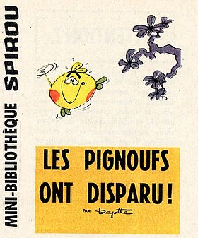 Couverture de Le flagada -8MR1495- Les Pignoufs ont disparu !