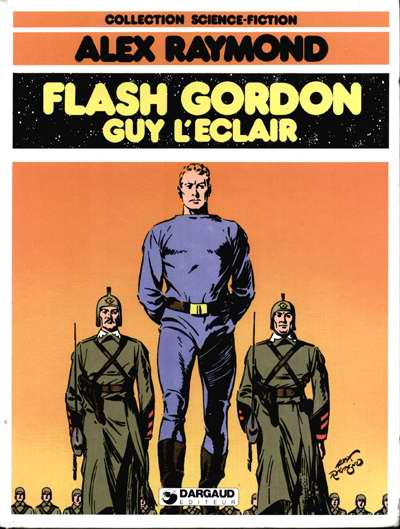Couverture de Flash Gordon (Dargaud) -1- Flash Gordon / Guy l'Eclair
