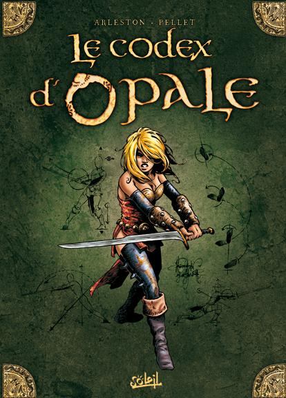 Couverture de Les forêts d'Opale -HS- Le Codex d'Opale
