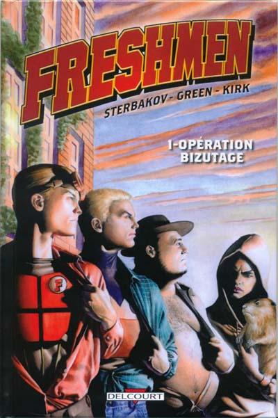 Couverture de Freshmen -1- Opération bizutage
