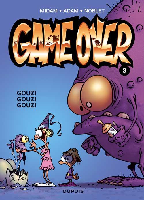 Couverture de Game over -3- Gouzi Gouzi Gouzi