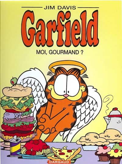 Couverture de Garfield -46- Moi, gourmand ?