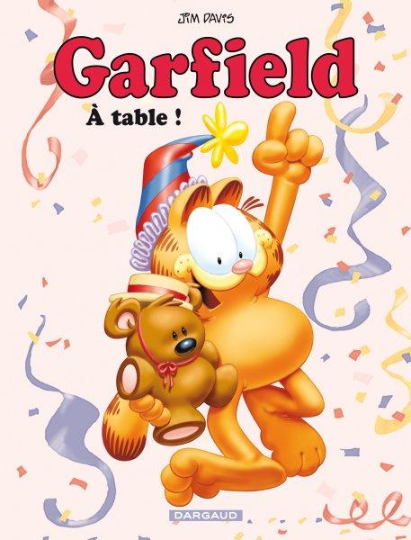 Couverture de Garfield -49- À table !