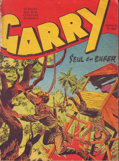 Couverture de Garry (sergent) (Imperia) (1re série grand format - 1 à 189) -134- Seul en enfer