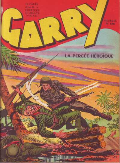 Couverture de Garry (sergent) (Imperia) (1re série grand format - 1 à 189) -136- La percée héroîque