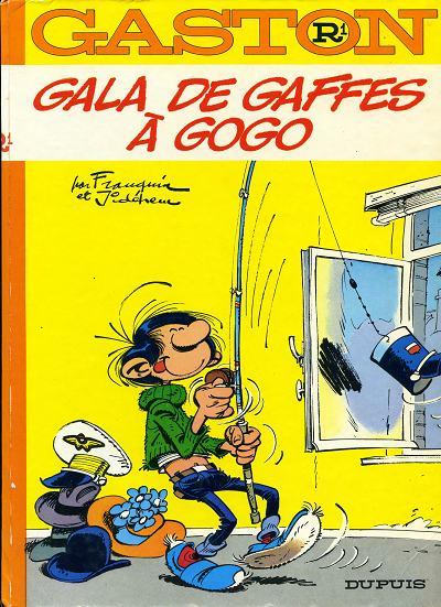 Couverture de Gaston -R1- Gala de gaffes à gogo