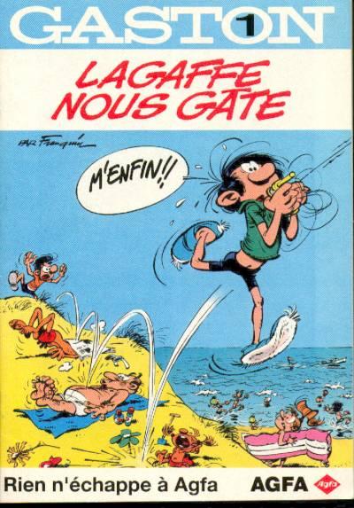 Couverture de Gaston (Hors-série) -Ag1- AGFA1-Lagaffe nous gâte