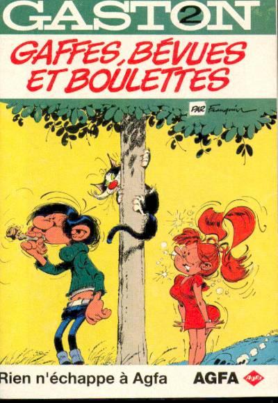 Couverture de Gaston (Hors-série) -Ag2- AGFA2-Gaffes bevues et boulettes