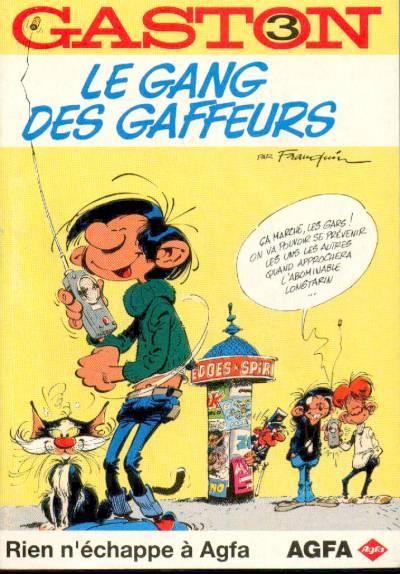 Couverture de Gaston (Hors-série) -Ag3- AGFA3-Le gang des gaffeurs