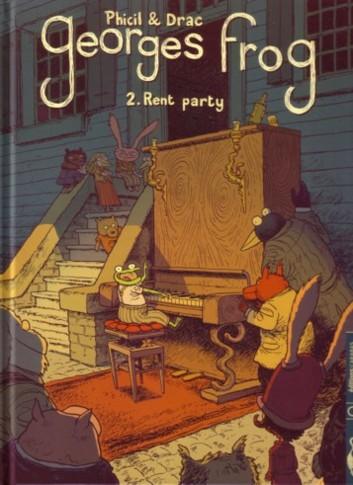 Couverture de Georges Frog -2- Rent party