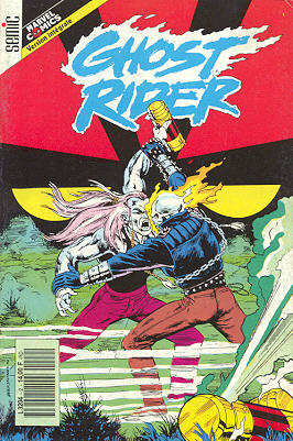 Couverture de Ghost Rider (Semic) -2- Ghost Rider 2