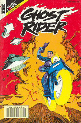 Couverture de Ghost Rider (Semic) -4- Ghost Rider 4