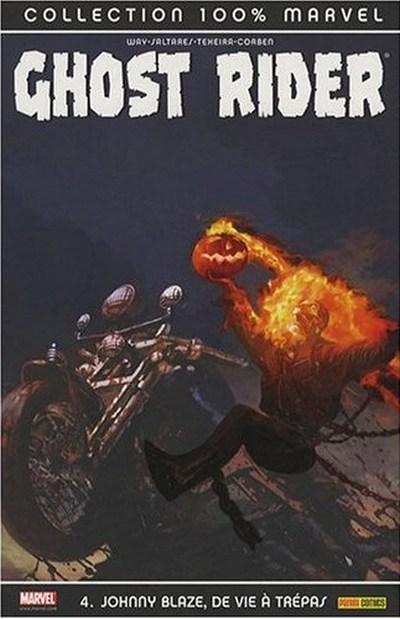 Couverture de Ghost Rider (100% Marvel) -4- Johnny Blaze, de vie à trépas