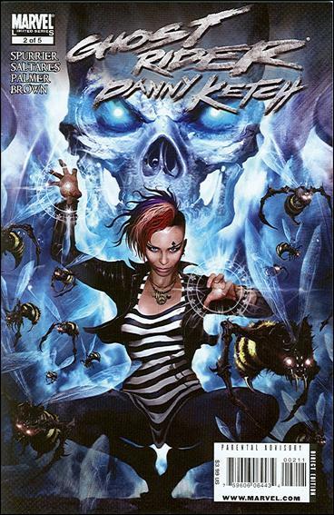 Couverture de Ghost Rider: Danny Ketch (2008) -2- Addict, part 2: Whose Face Gives No Light