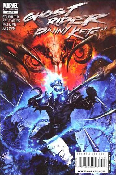 Couverture de Ghost Rider: Danny Ketch (2008) -4- Addict, part 4: The Jones