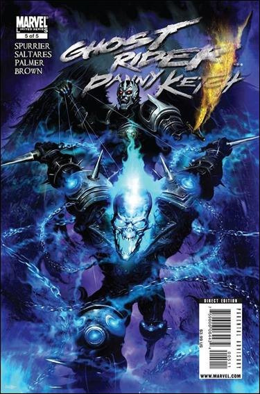 Couverture de Ghost Rider: Danny Ketch (2008) -5- Addict, part 5: chase the dragon