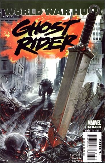 Couverture de Ghost Rider (2006) -13- Apocalypse Soon part 2 of 2