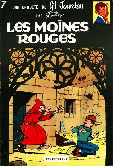 Couverture de Gil Jourdan -7- Les moines rouges