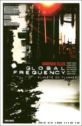 Couverture de Global Frequency -1- Planète en flammes