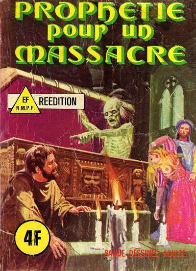 Couverture de Les grands classiques de l'épouvante -2- Prophétie pour un massacre