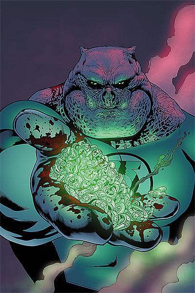 Couverture de Green Lantern Corps (2006) -38- Emerald eclipse conclusion