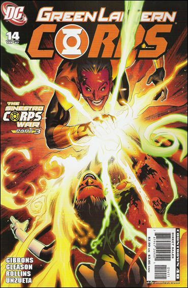 Couverture de Green Lantern Corps (2006) -14- Sinestro Corps, chapter two: The Gathering Storm
