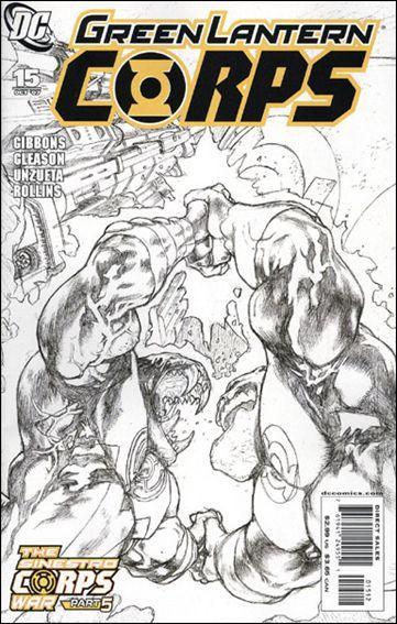 Couverture de Green Lantern Corps (2006) -15- Sinestro Corps - The Battle of Mogo