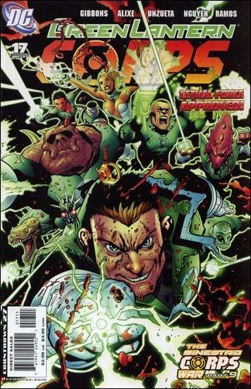 Couverture de Green Lantern Corps (2006) -17- Sinestro Corps - Endgame