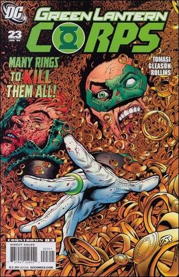 Couverture de Green Lantern Corps (2006) -23- Ring Quest, part two