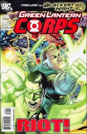 Couverture de Green Lantern Corps (2006) -36- Emerald Eclipse, part four