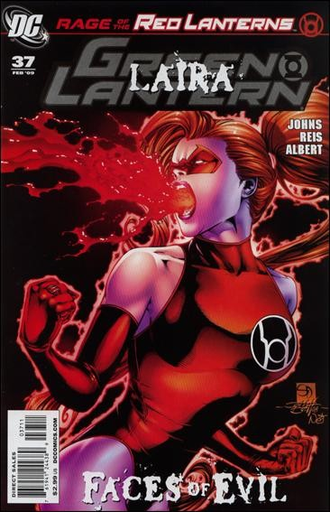 Couverture de Green Lantern (2005) -37- Rage of the Red Lanterns, part three