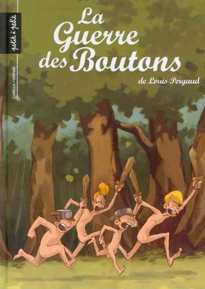 Couverture de La guerre des Boutons (Vernay/Khaz) -1- Le trésor