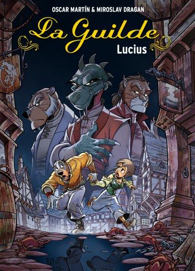 Couverture de La guilde -2- Lucius