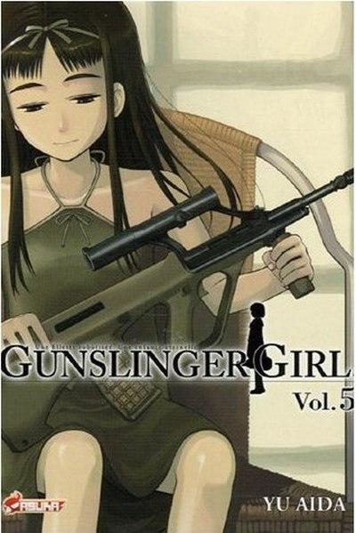 Couverture de Gunslinger Girl -5- Tome 5