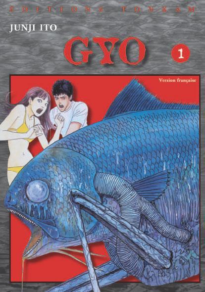 Couverture de Gyo -1- La Puanteur des Mers du Sud