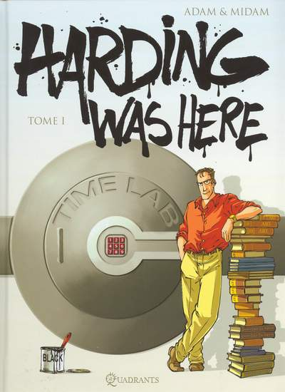 Couverture de Harding was here -1- Tome 1