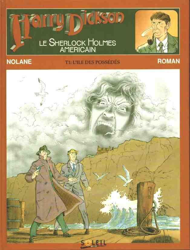 Couverture de Harry Dickson (Nolane/Roman) -1- L'ile des possédés