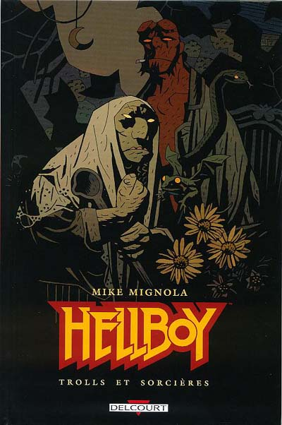 Couverture de Hellboy (Delcourt) -8- Trolls et sorcières