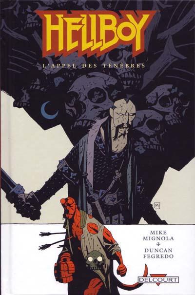 Couverture de Hellboy (Delcourt) -9- L'appel des ténèbres