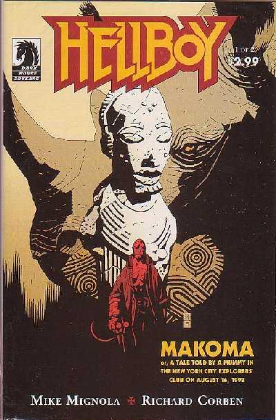 Couverture de Hellboy (1994) -25- Makoma 1