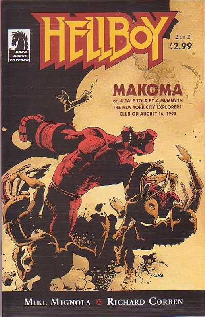 Couverture de Hellboy (1994) -26- Makoma 2