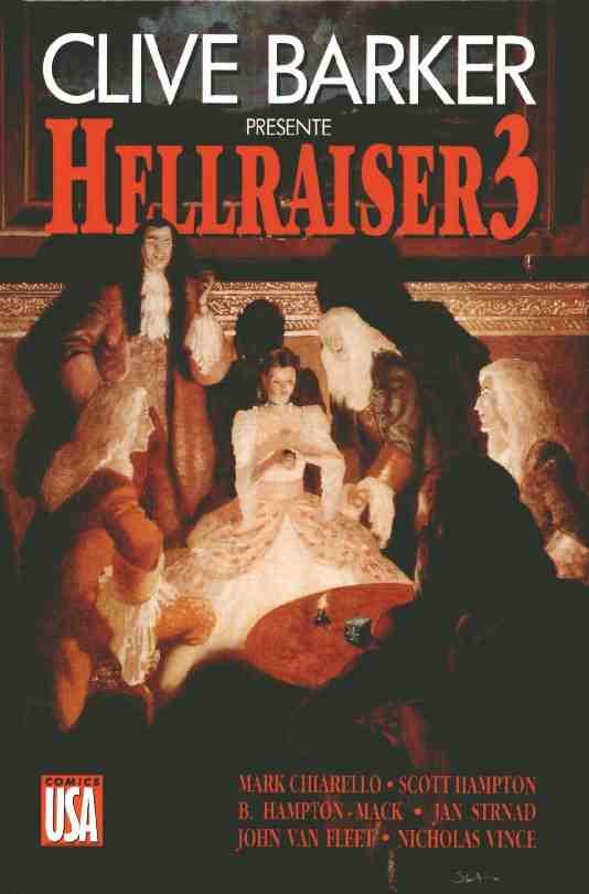 Couverture de Hellraiser (Comics USA) -3- Tome 3