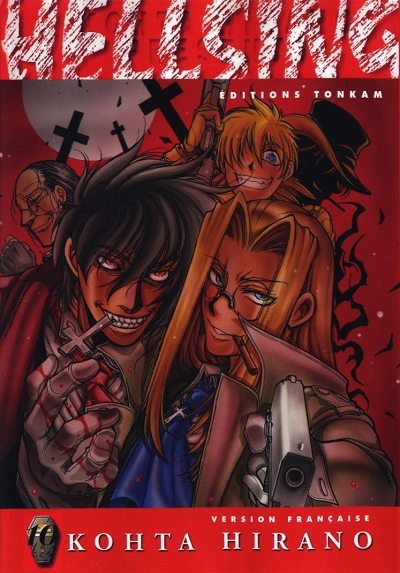 Hellsing - les 10 tomes