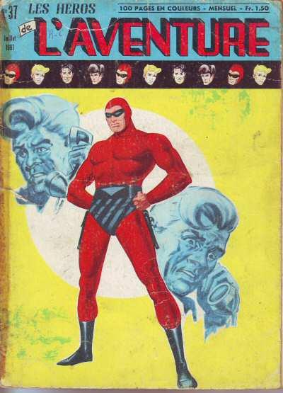 Couverture de Les héros de l'aventure (Classiques de l'aventure, Puis) -37- Le Fantôme : Victoire sur chaos