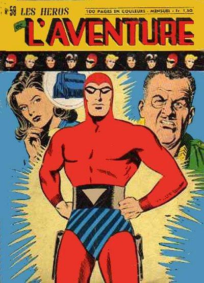 Couverture de Les héros de l'aventure (Classiques de l'aventure, Puis) -58- Le Fantôme : La valise diplomatique (2)